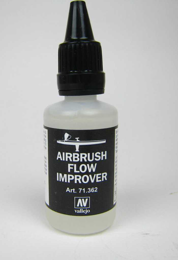 vallejo 32 ml airbrush flow improver flie verbesserer airbrush farbe. Black Bedroom Furniture Sets. Home Design Ideas