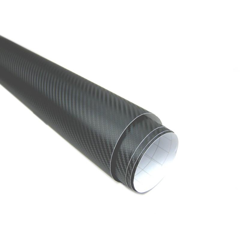 3d carbon folie schwarz 152cm flexibel selbstklebend carbonfolie meterware ebay. Black Bedroom Furniture Sets. Home Design Ideas