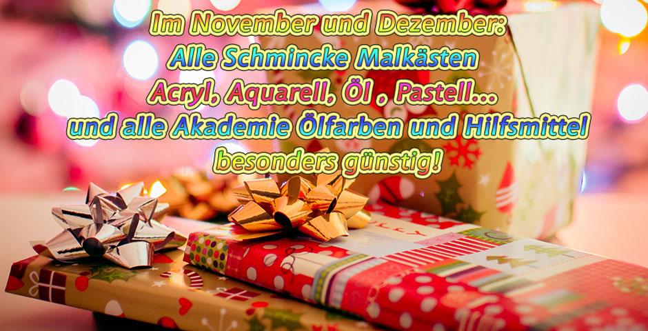 Schmincke Weihnachten Geschenke