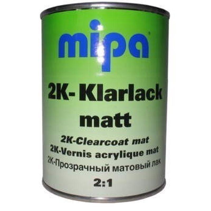 mipa 2k klarlack matt 0 5 liter 232900000. Black Bedroom Furniture Sets. Home Design Ideas
