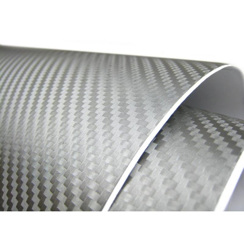 3d carbon folie grau 152cm flexibel selbstklebend carbonfolie ebay. Black Bedroom Furniture Sets. Home Design Ideas